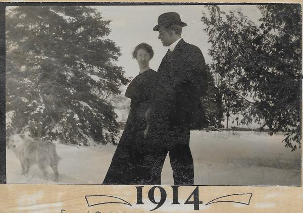 Clara Philp and Melville Giffin, 1914