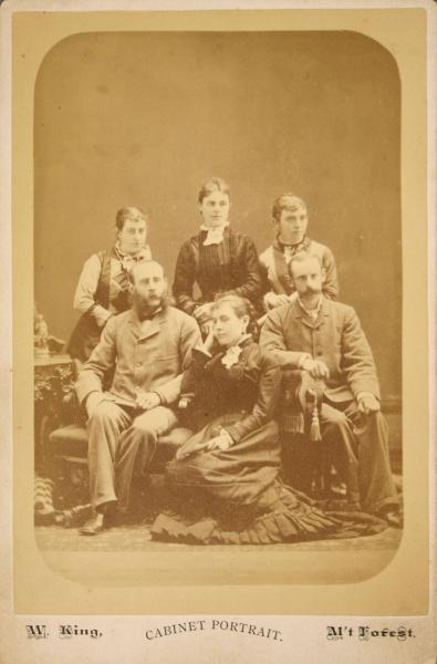Susan Smith (top left) and Family
