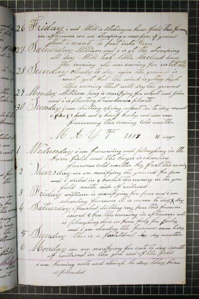 John Sr. Jardine Diary