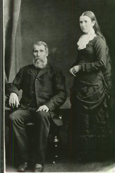 James Augustus Crawford & his Daughter