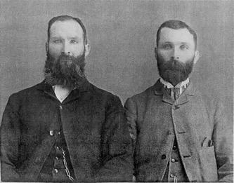 John and Henry McMahon c. 1880-1885