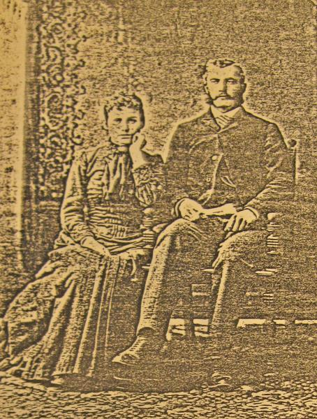 George Charles Butcher and Mary Butcher, c. 1888