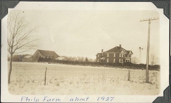 Philp Homestead, 1927