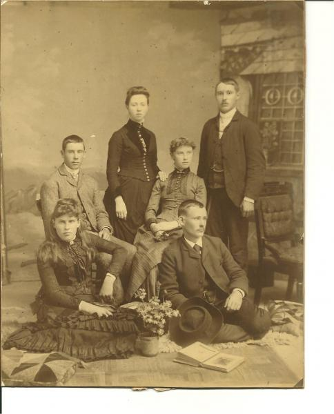 Sutherland and Geddes cousins as young adults