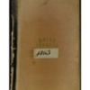 David Allan Diary & Transcription, 1863