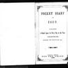 John Ferguson Diary & Transcription, 1869